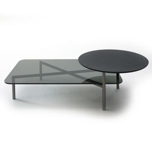 Bitop Table with Glass Top - Coedition - Do Shop