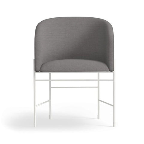 Covent Dining Chair White Grey - New Works - Do Shop