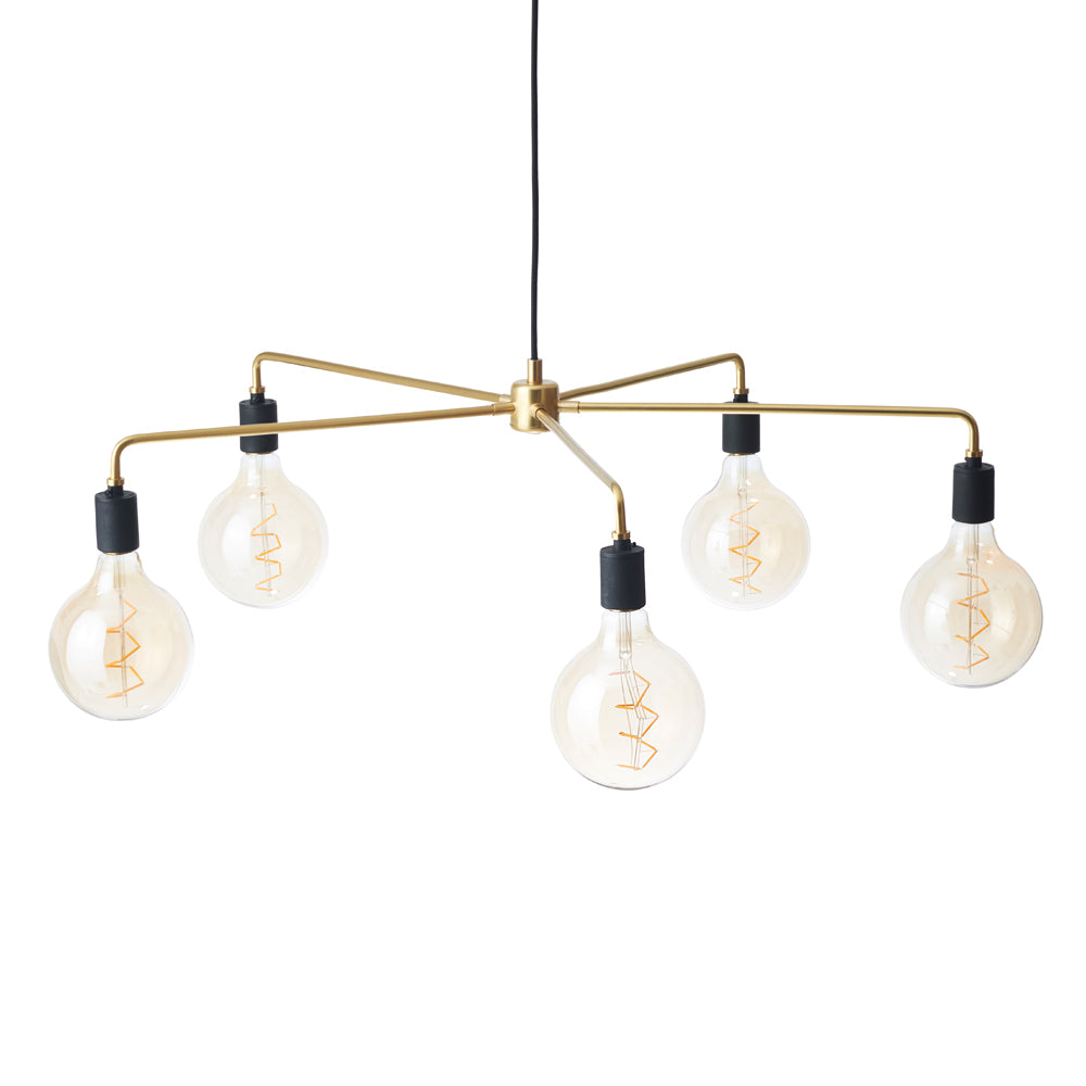 Chambers Chandelier - Brass by Menu | Do Shop