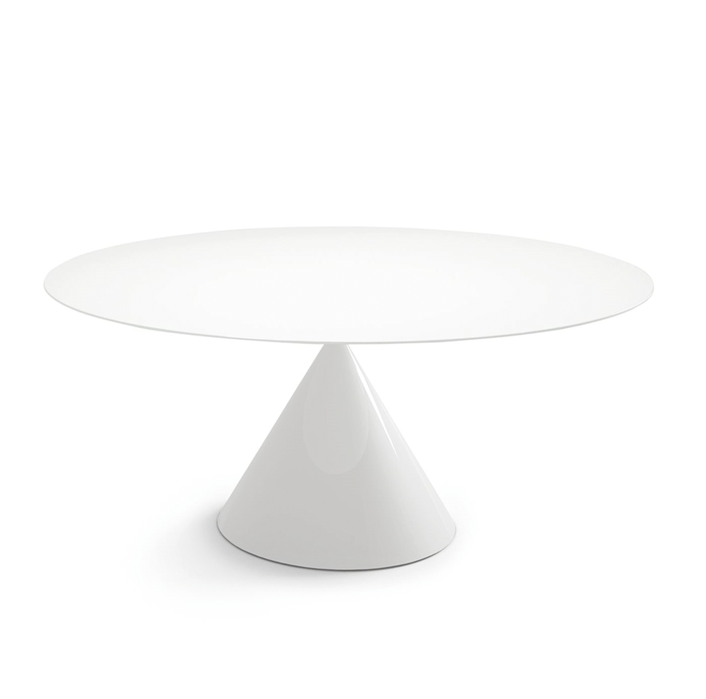 Clay Table Oval - Glossy White - Desalto - Do Shop