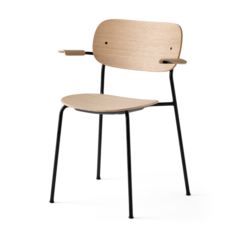 Co Chair With Arms And Without Upholstery - Menu - Do