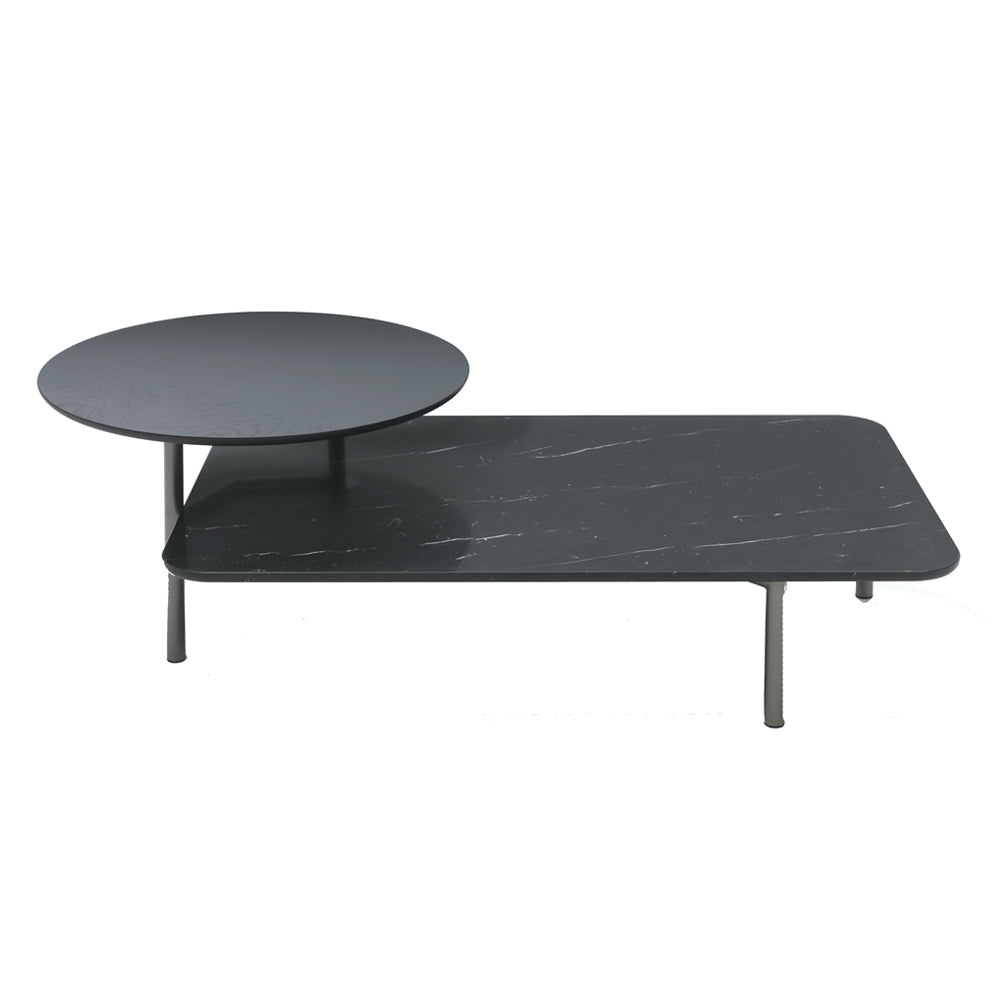 Bitop Table with Marble Top Black by Coedition | Do Shop