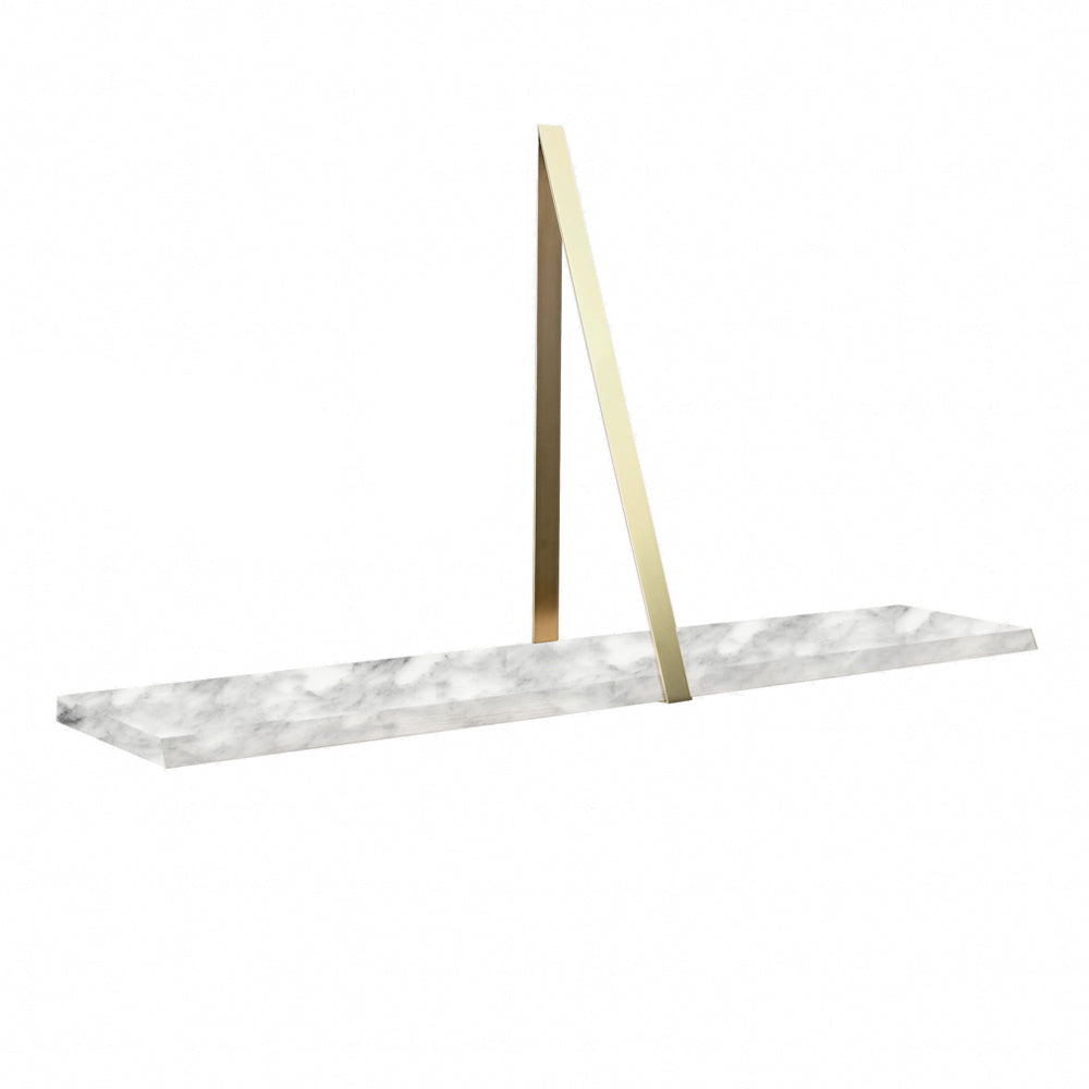 T-Square Wall Shelf in Marble by Coedition | Do Shop
