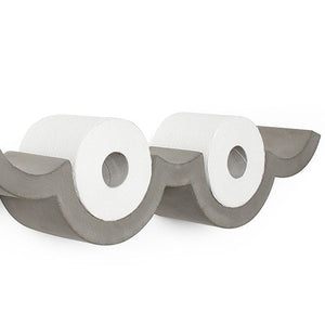 Concrete Cloud Toilet Paper Shelf - Small - Lyon Beton - Do Shop