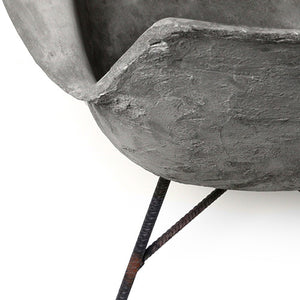 Hauteville Concrete Armchair - Low - Lyon Beton - Do Shop
