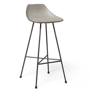 Hauteville Concrete Bar Stool - Lyon Beton - Do Shop