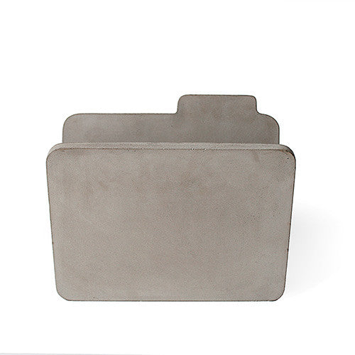 Concrete Magazine Rack - Lyon Beton - Do Shop