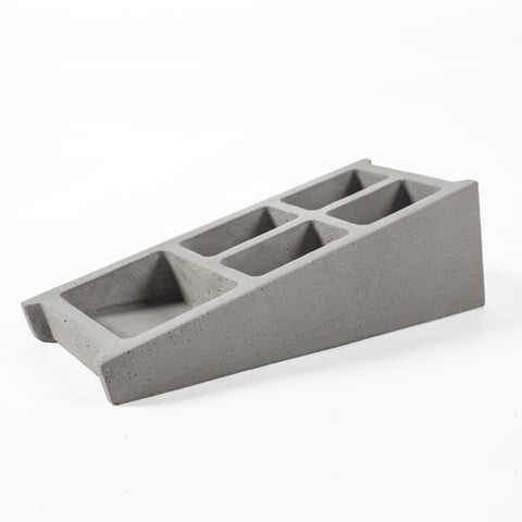 Blockwork Desk Organiser - Lyon Beton - Do Shop