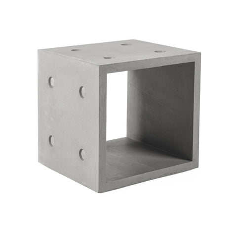 Dice Medium Concrete Storage Module - Lyon Beton - Do Shop
