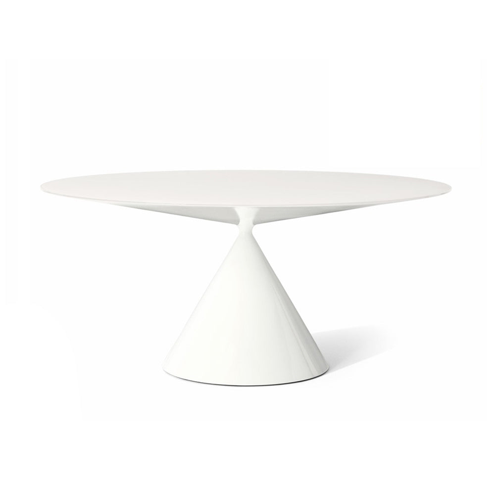 Clay Table Round - Glossy White - Desalto - Do Shop