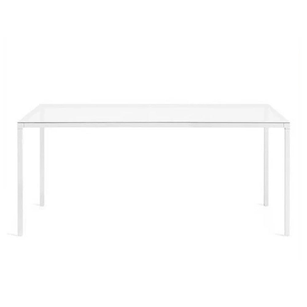 Helsinki Table - White Glass Top - Desalto - Do Shop
