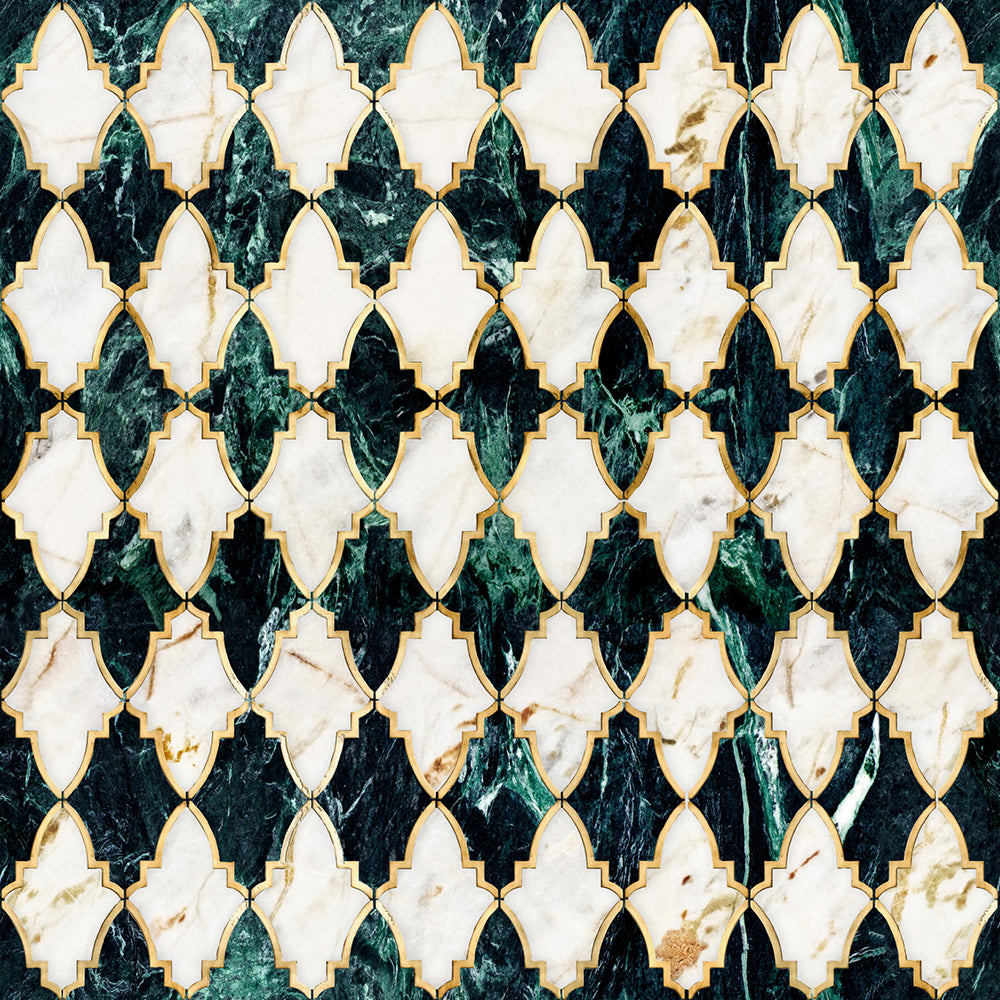 Empire Emerald Manhattan Wallpaper - MINDTHEGAP - Do Shop