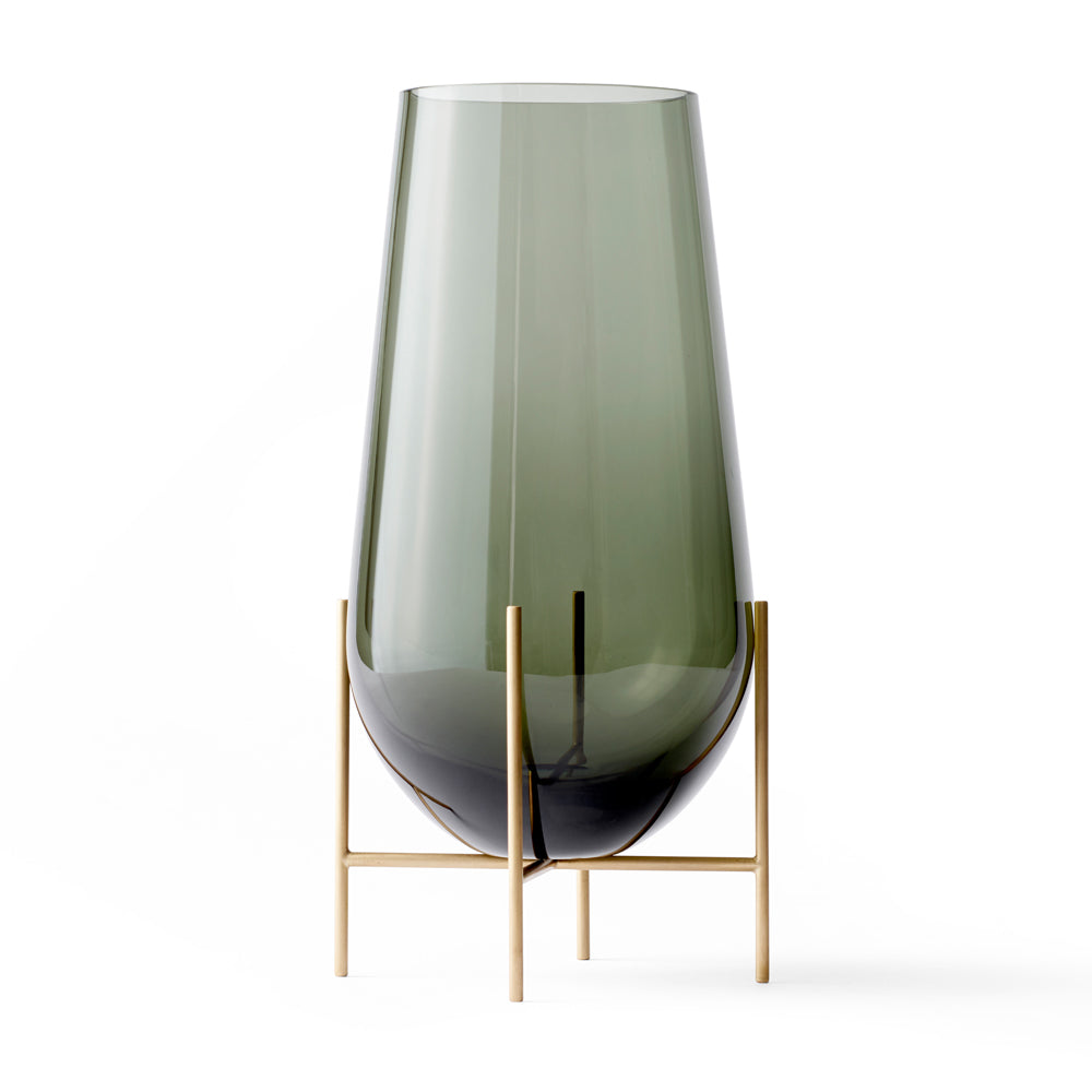 Echasse Vase in Smoked Glass - Menu - Do Shop