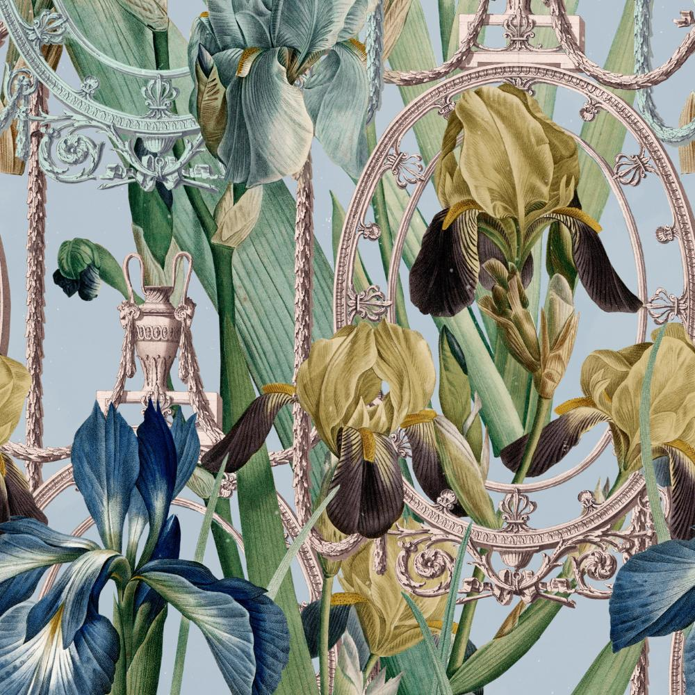 Fleurs D'Iris Wallpaper - Compendium Collection by MINDTHEGAP | Do Shop