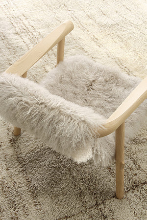 Altay Armchair - White Goatskin - Coedition - Do Shop