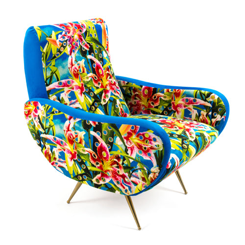 Flowers With Holes - Armchair - Seletti Wears Toiletpaper
