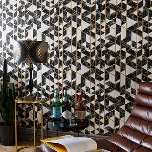 Gramercy Onyx Manhattan Wallpaper - MINDTHEGAP - Do Shop