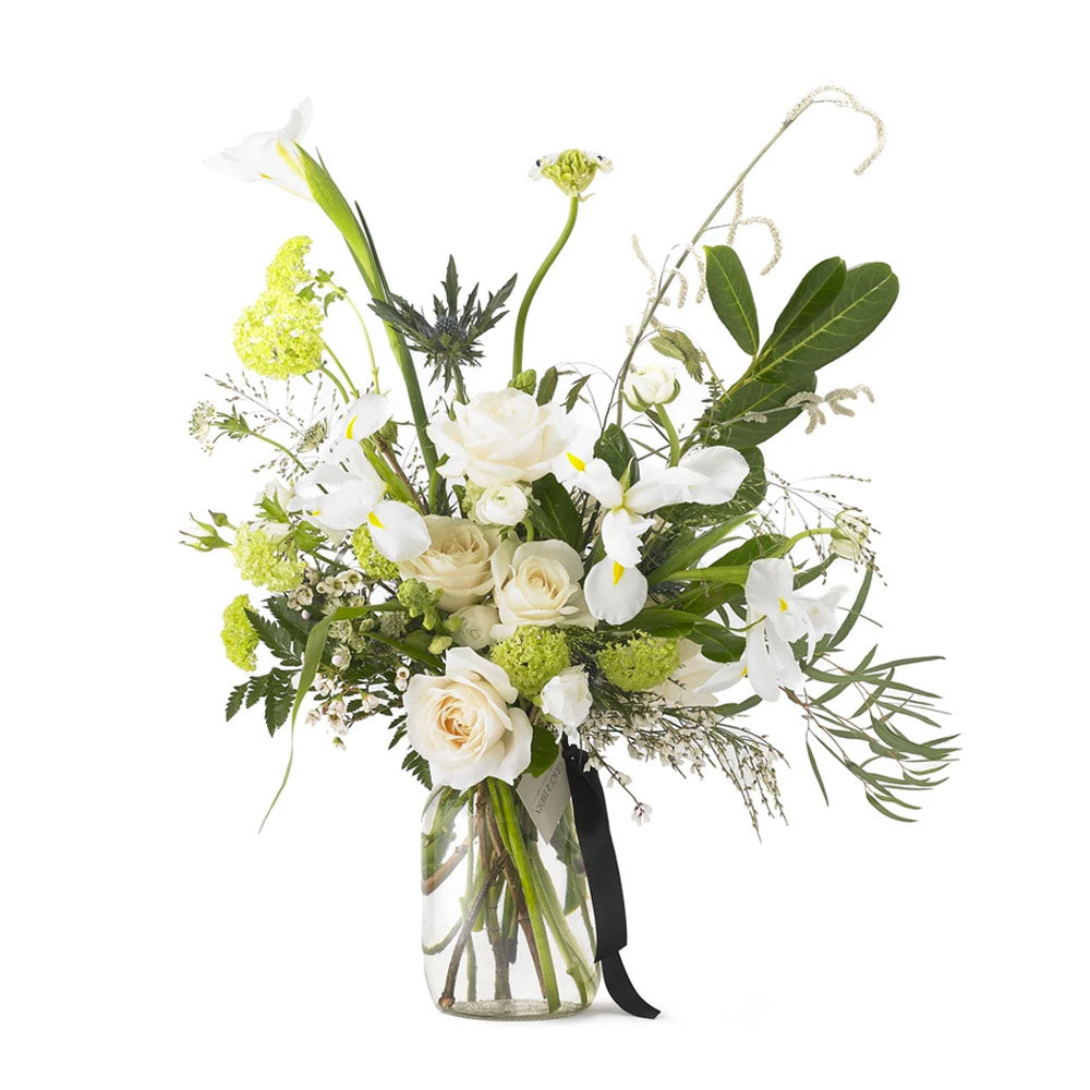White Noise Fresh Flowers by Grace & Thorn | Do Shop