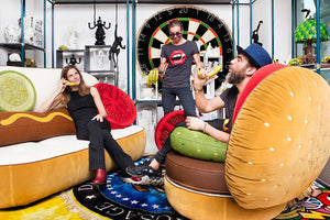 Hot Dog Sofa - Burger Armchair - Job & Seletti - Do Shop