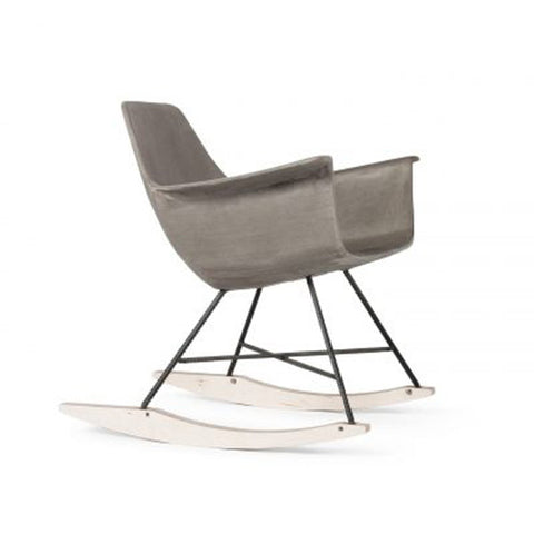 Hauteville Concrete Rocking Chair - Lyon Beton - Do Shop