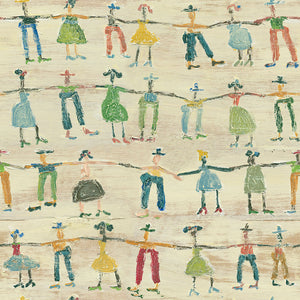 Little People Sugarboo Wallpaper - MINDTHEGAP - Do Shop