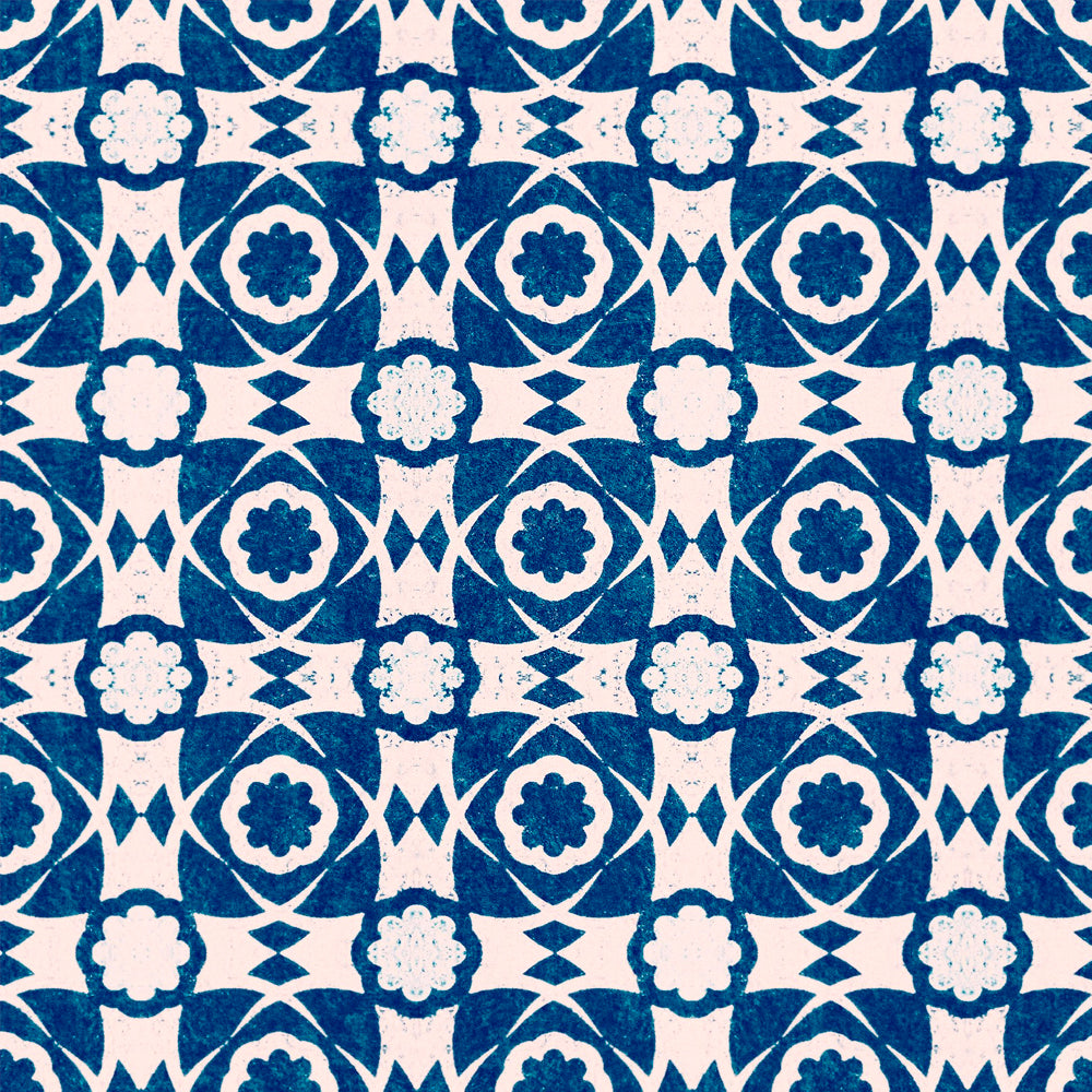 Aegean Tiles Wallpaper by MINDTHEGAP | Do Shop