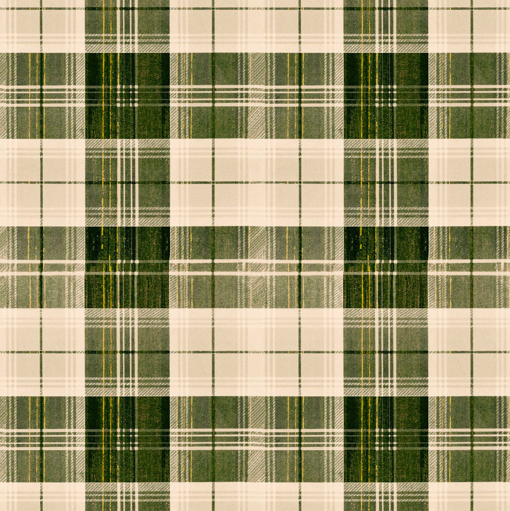 Countryside Plaid Wallpaper by MINDTHEGAP | Do Shop