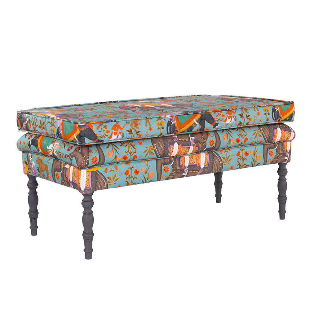Edward Ottoman and Bench by MINDTHEGAP | Do Shop