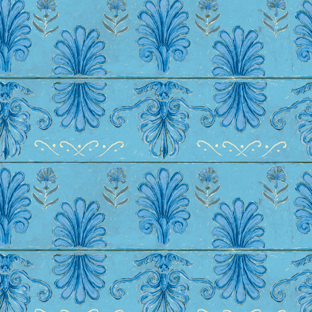 Mykonos Villa Motif Wallpaper by MINDTHEGAP | Do Shop