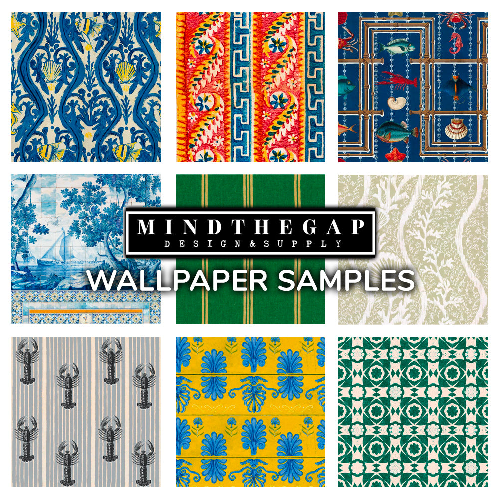 MINDTHEGAP Wallpaper Samples | Do Shop