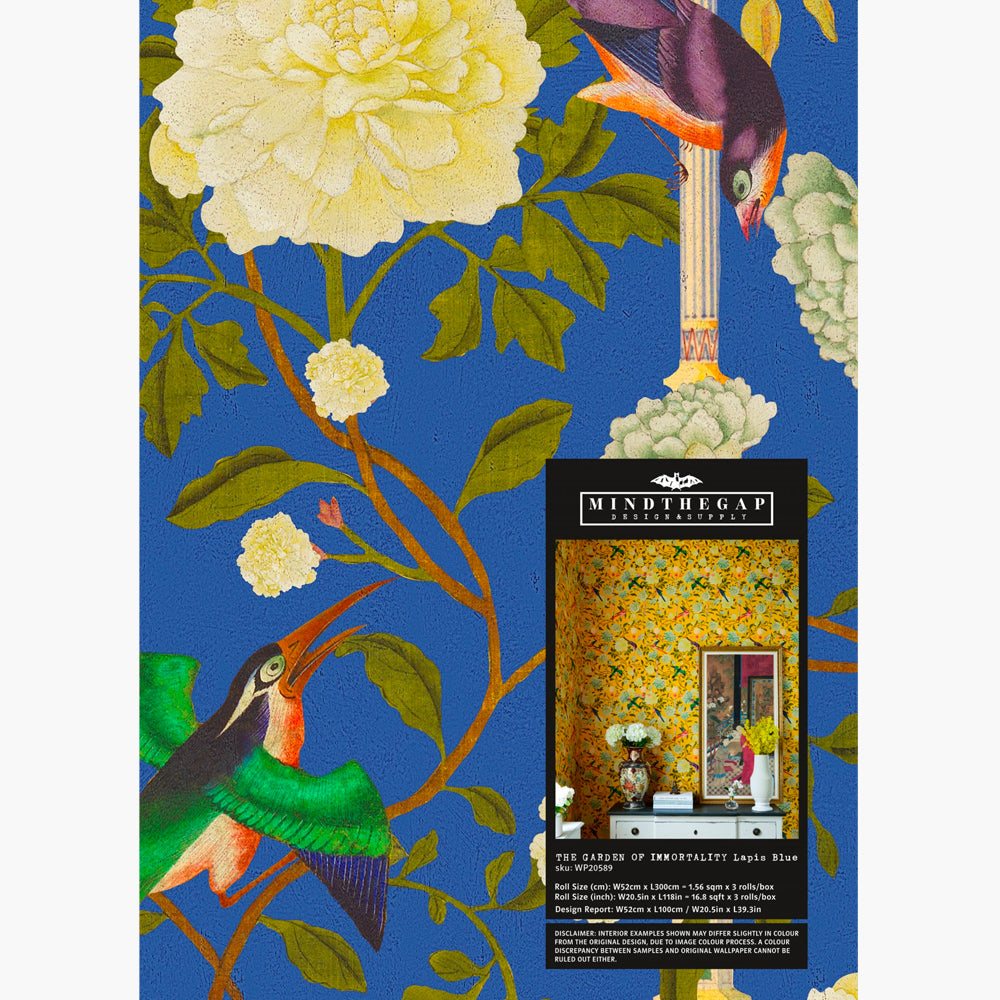 The Garden of Immortality Wallpaper by MINDTHEGAP   Do Shop