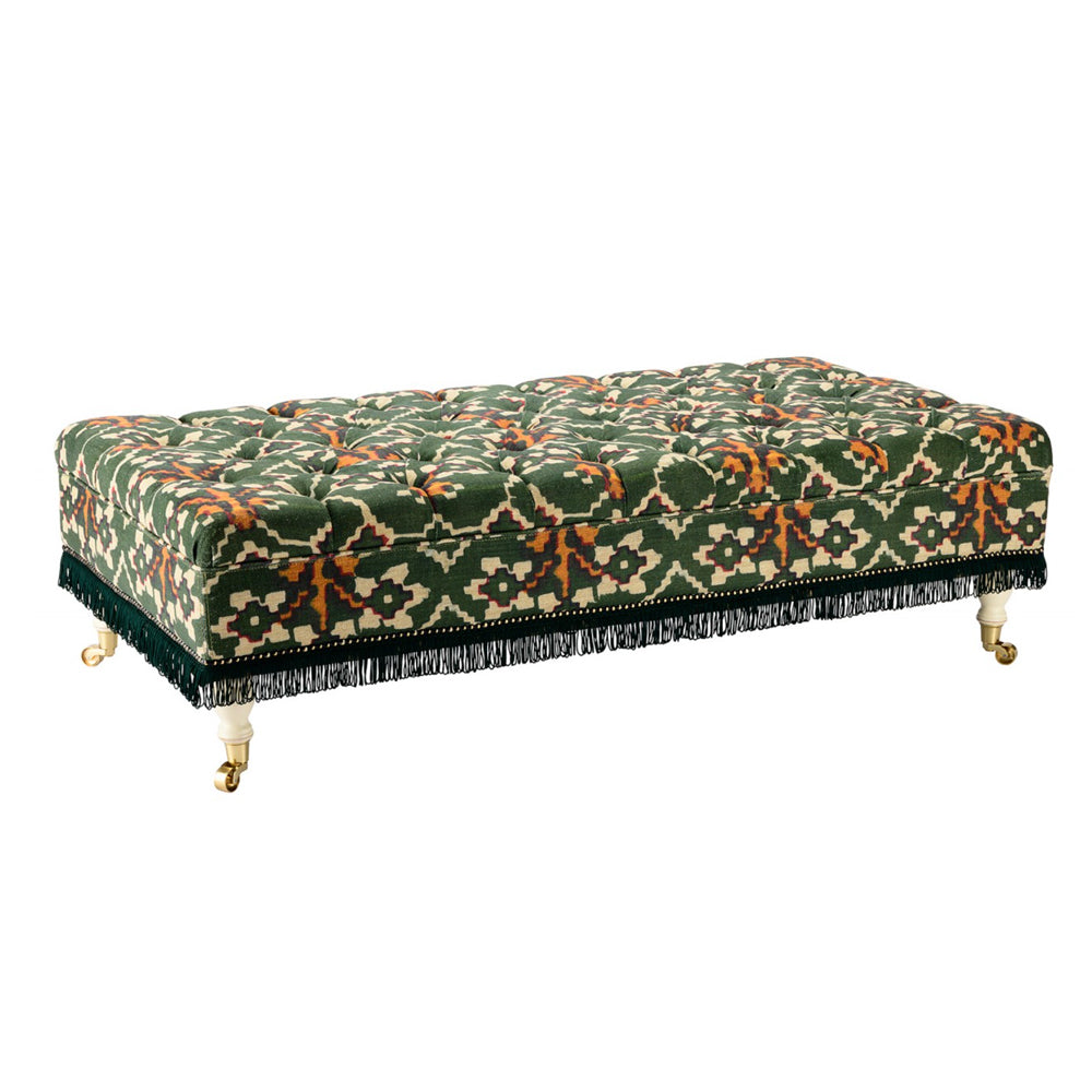 Saray Tufted Ottoman and Bench by MINDTHEGAP | Do Shop