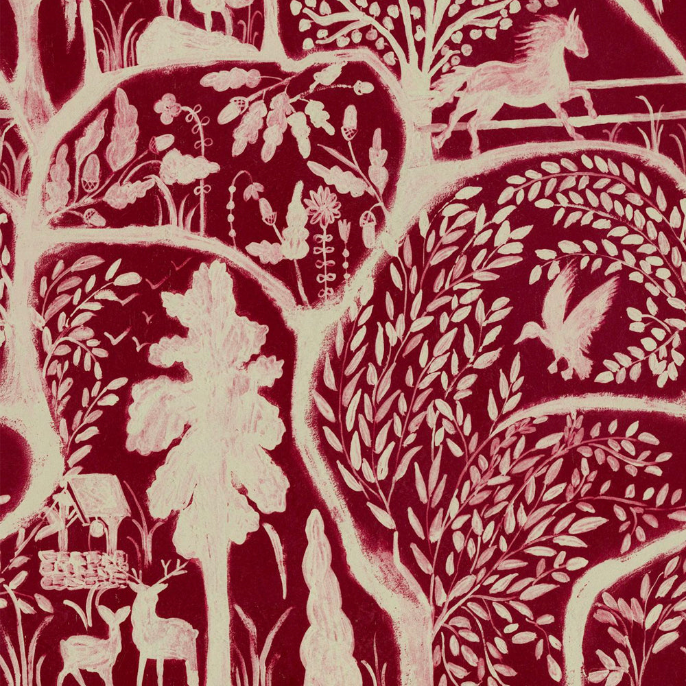 The Enchanted Woodland Wallpaper by MINDTHEGAP | Do Shop