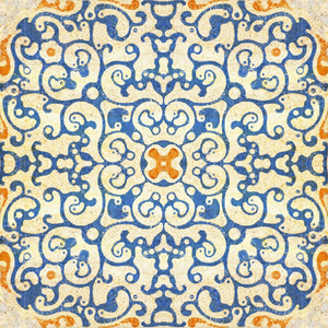 Spanish Tile Wallpaper - MINDTHEGAP - Do Shop
