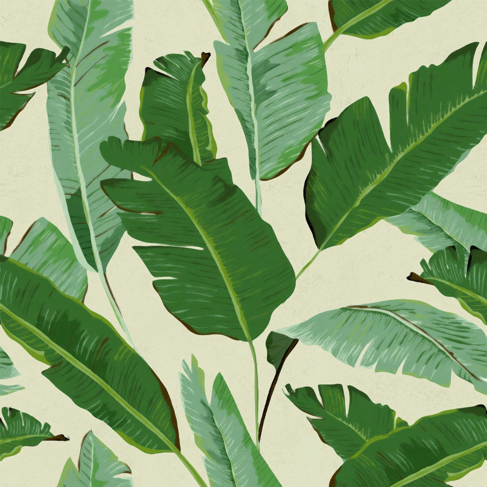 Banana Leaves Wallpaper - MINDTHEGAP - Do Shop