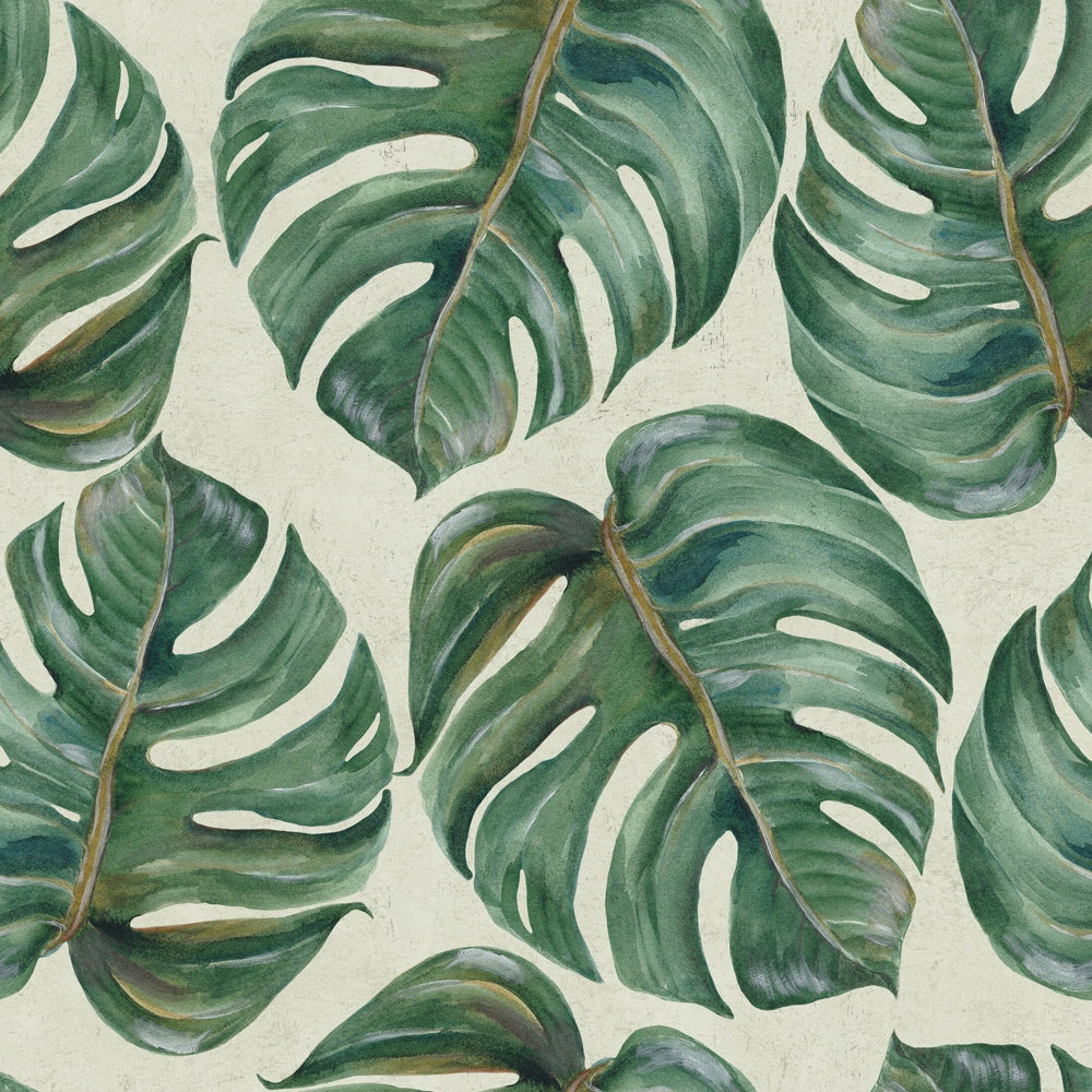 Tropical Leaf Wallpaper by MINDTHEGAP | Do Shop