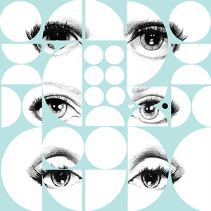 Eyes and Circles Wallpaper by MINDTHEGAP | Do Shop