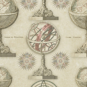 Armillary Wallpaper by MINDTHEGAP | Do Shop