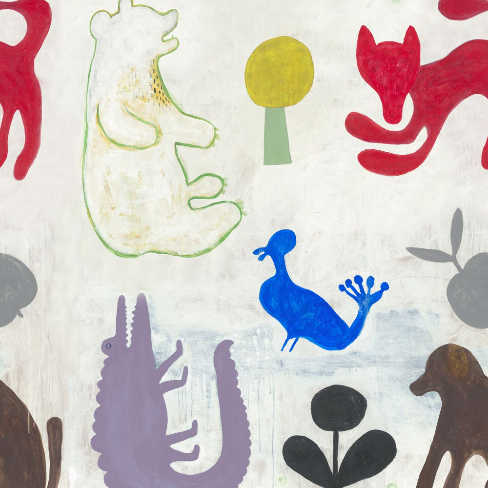 Mr Boyd's Animals Wallpaper by MINDTHEGAP | Do Shop