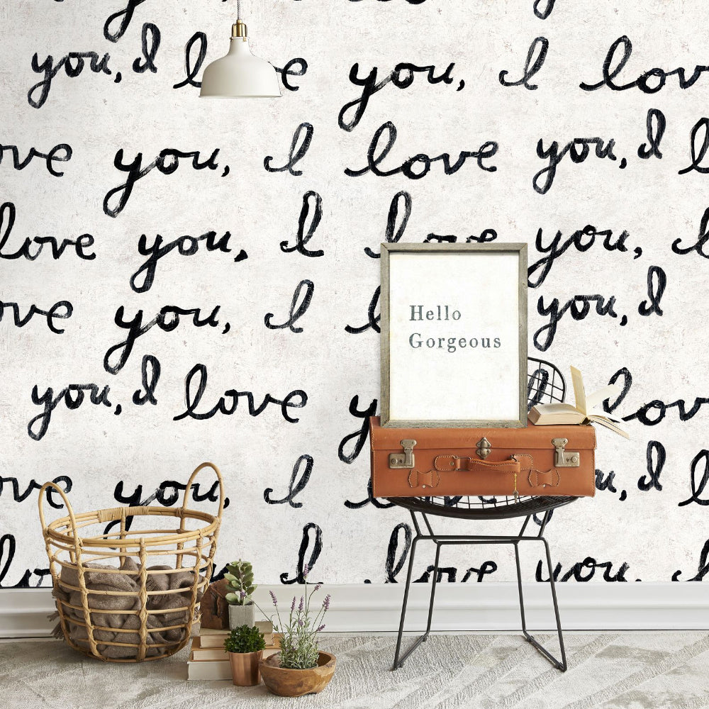 I Love You I Love You Wallpaper by MINDTHEGAP | Do Shop