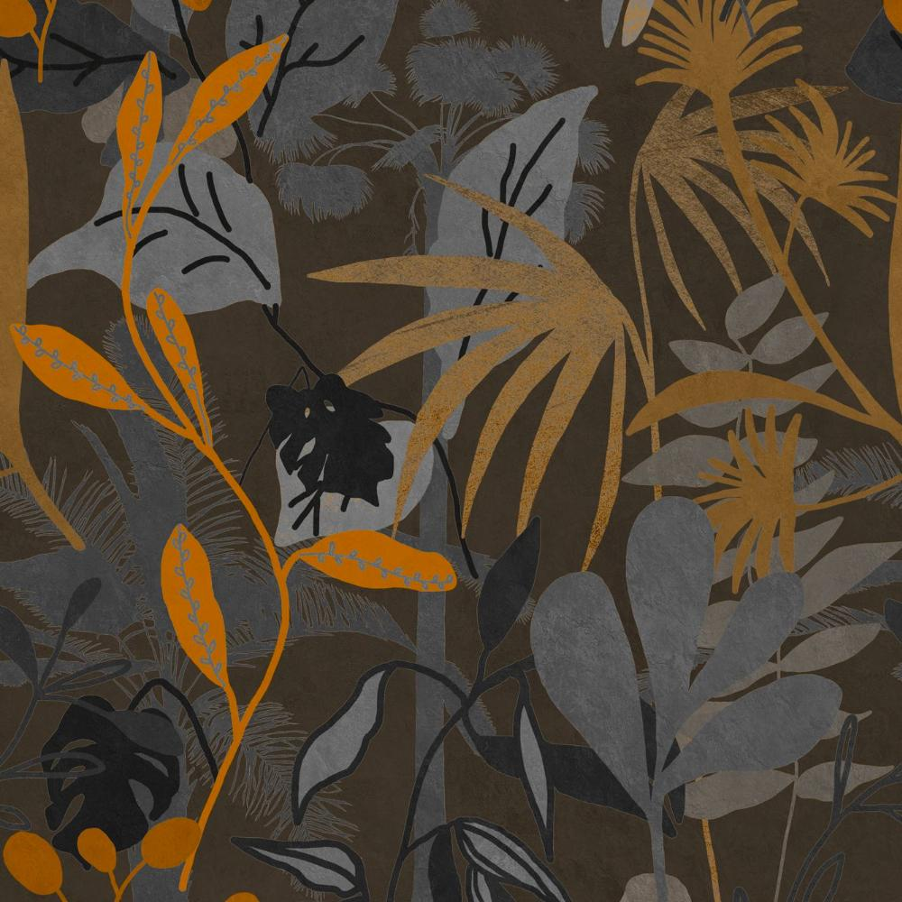 Caribbean Garden Dark Wallpaper - Compendium Collection by MINDTHEGAP | Do Shop
