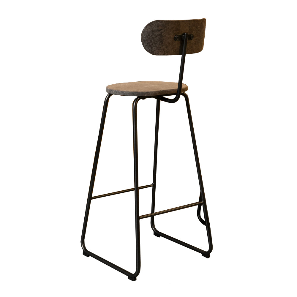 Earth Stool with Backrest by Mater | Do Shop
