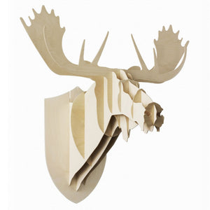 Moose Large Trophy - Moustache - Do Shop