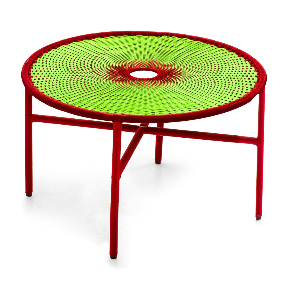 Banjooli Large Table Dia 75 x H 46 cm - M'Afrique Collection by Moroso | Do Shop