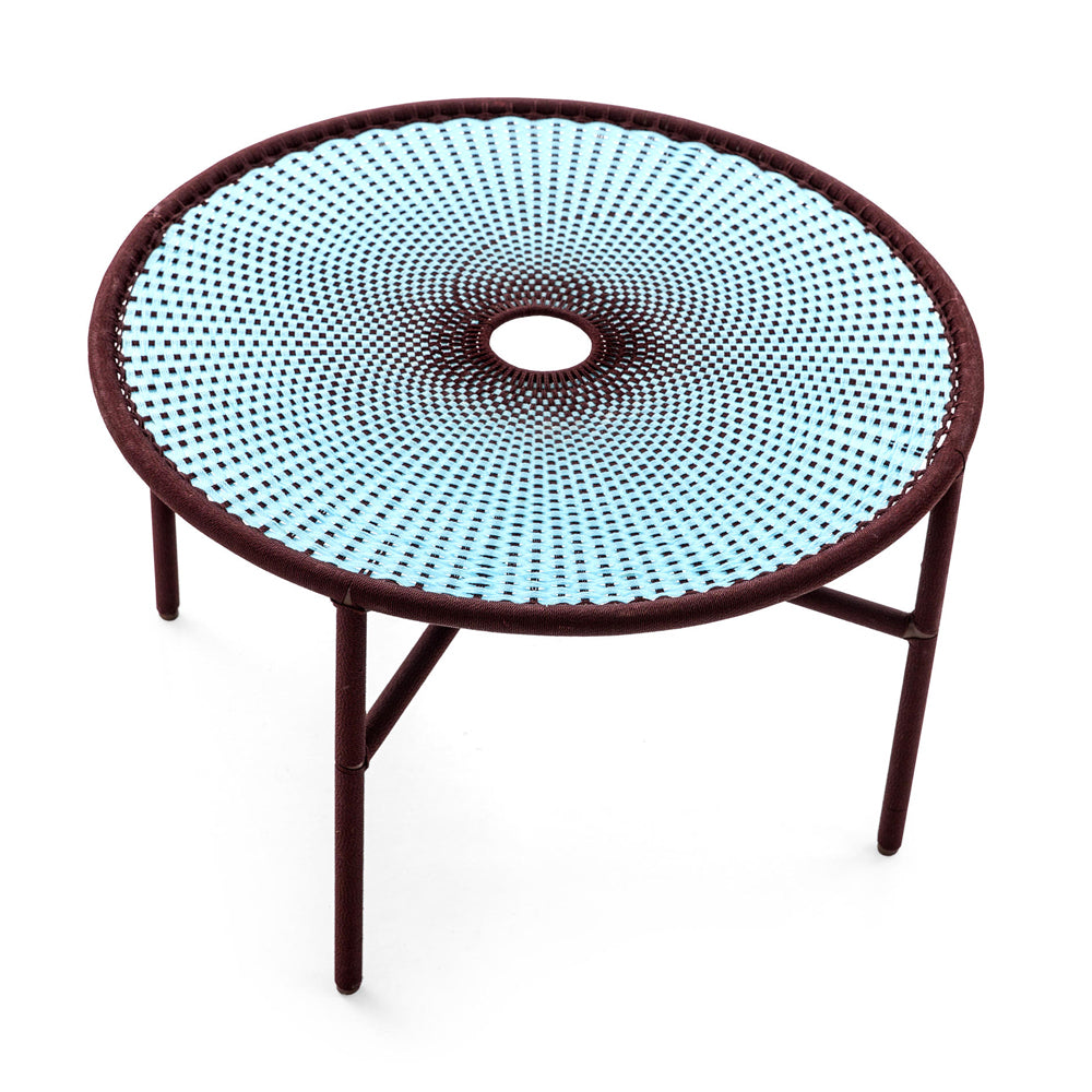 Banjooli Large Table Dia 75 x H 38 cm - M'Afrique Collection by Moroso | Do Shop