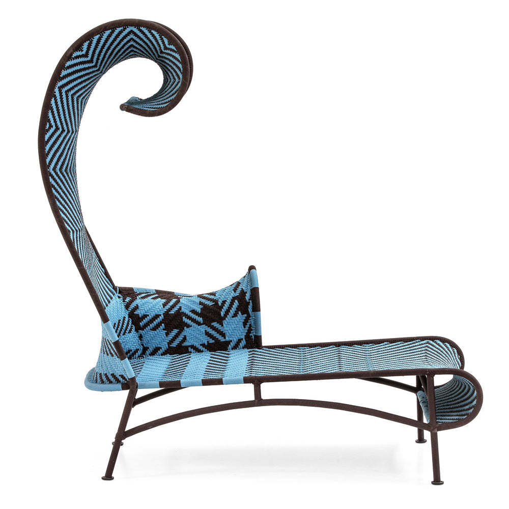 Shadowy Chaise Longue - M'Afrique Collection by Moroso | Do Shop
