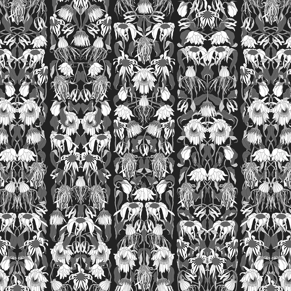 Withered Flowers Black Archives Wallpaper by Studio Job - NLXL - Do Shop