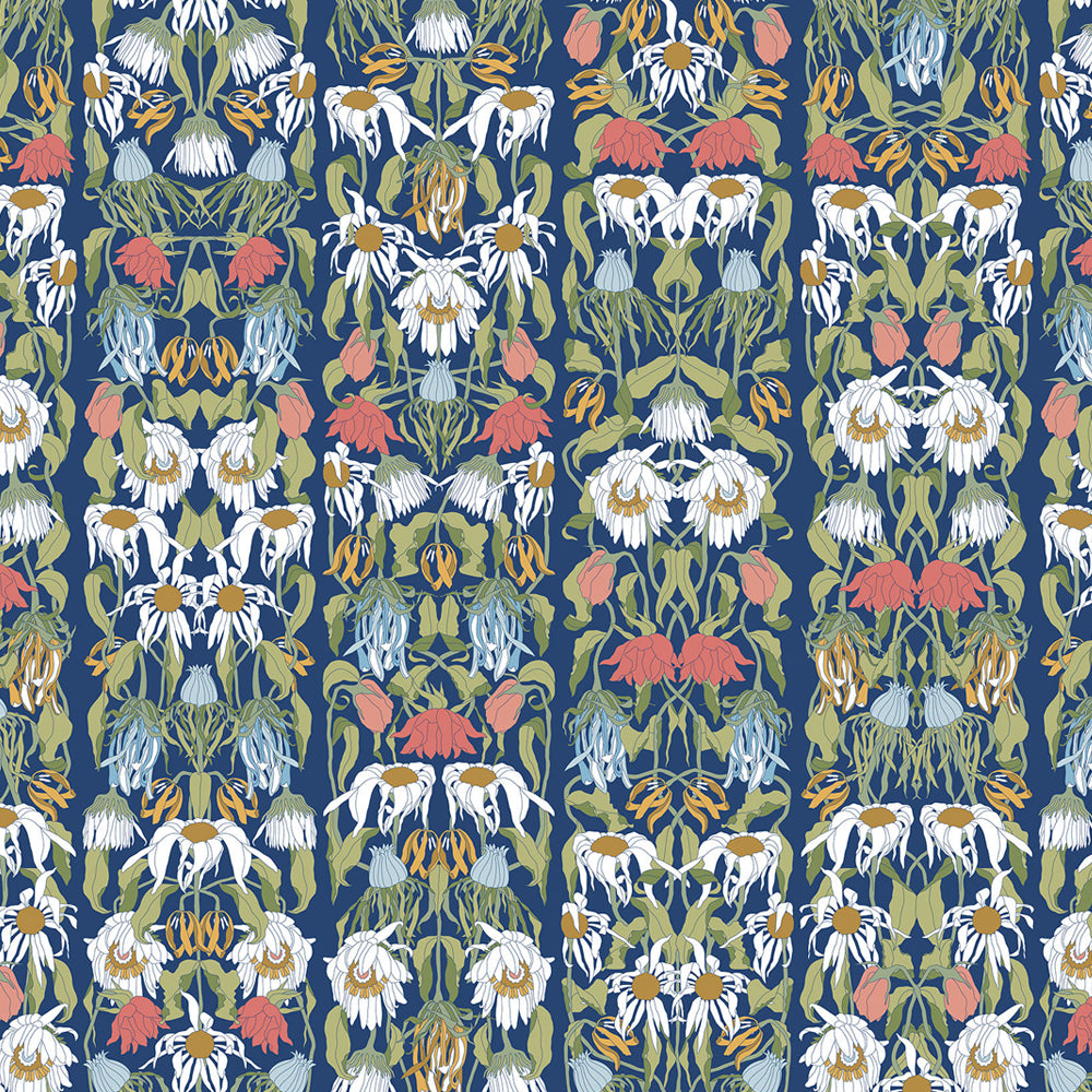Withered Flowers Colour Archives Wallpaper by Studio Job - NLXL - Do Shop