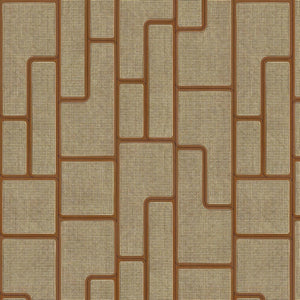 Angle Webbing Mahogany Wallpaper by Studio Roderick Vos - NLXL | Do Shop