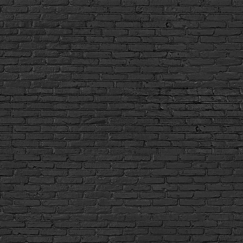 Black Brick Materials Wallpaper by Piet Hein Eek - NLXL - Do Shop